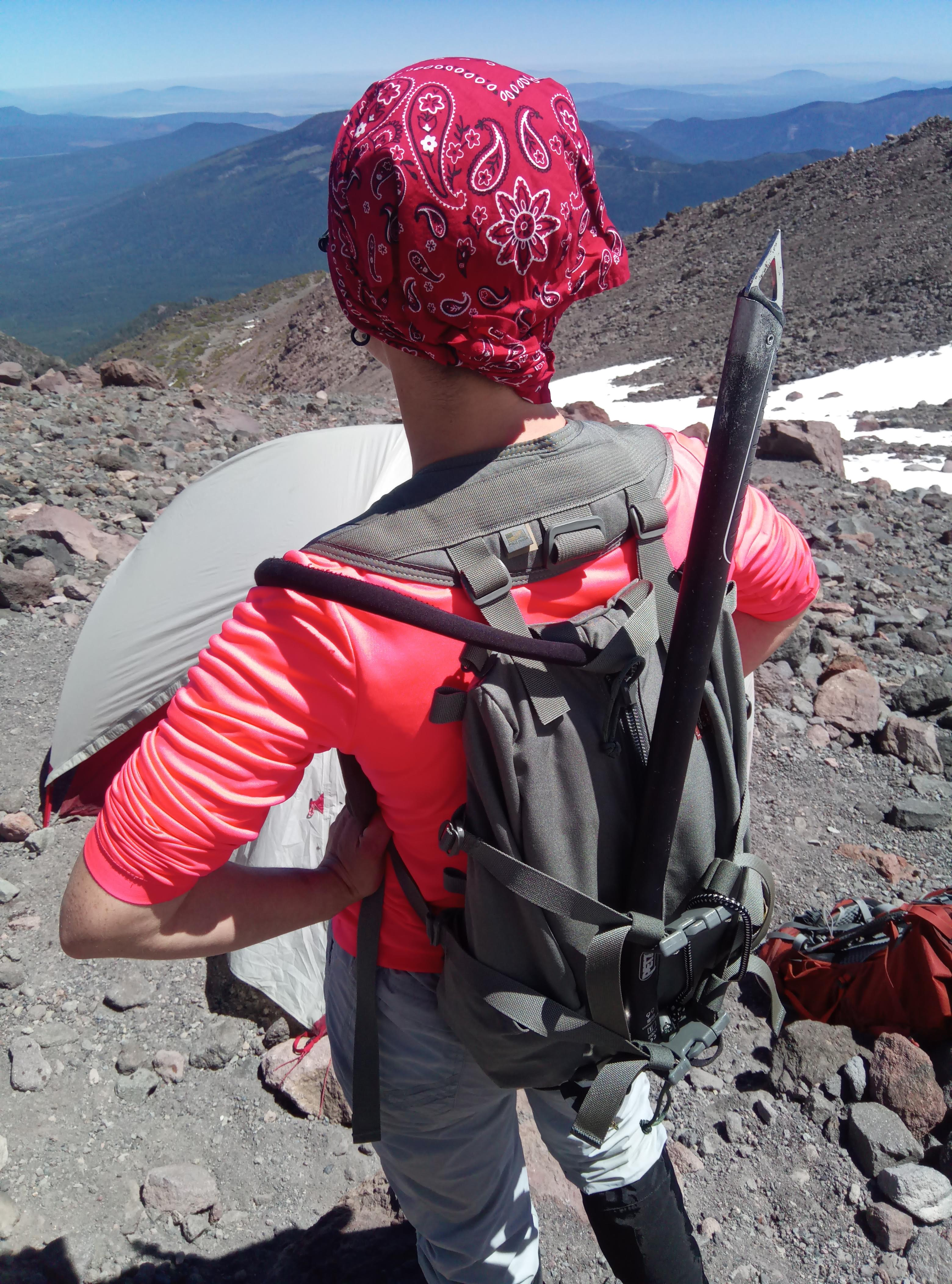 Tarahumara backpack is back from the summit