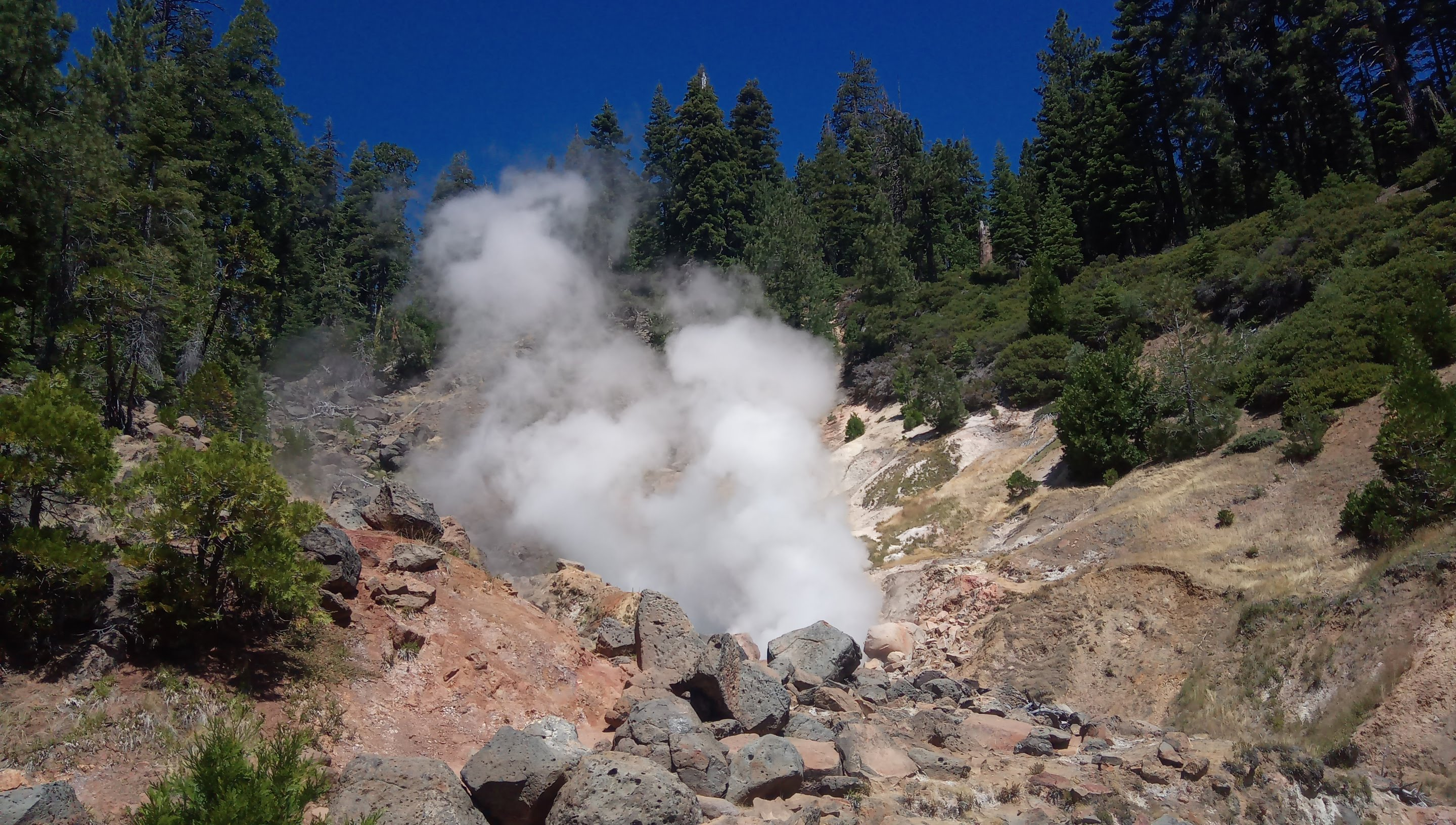 Three days in Lassen - Part 3, Terminal Geyser 2020-07-05