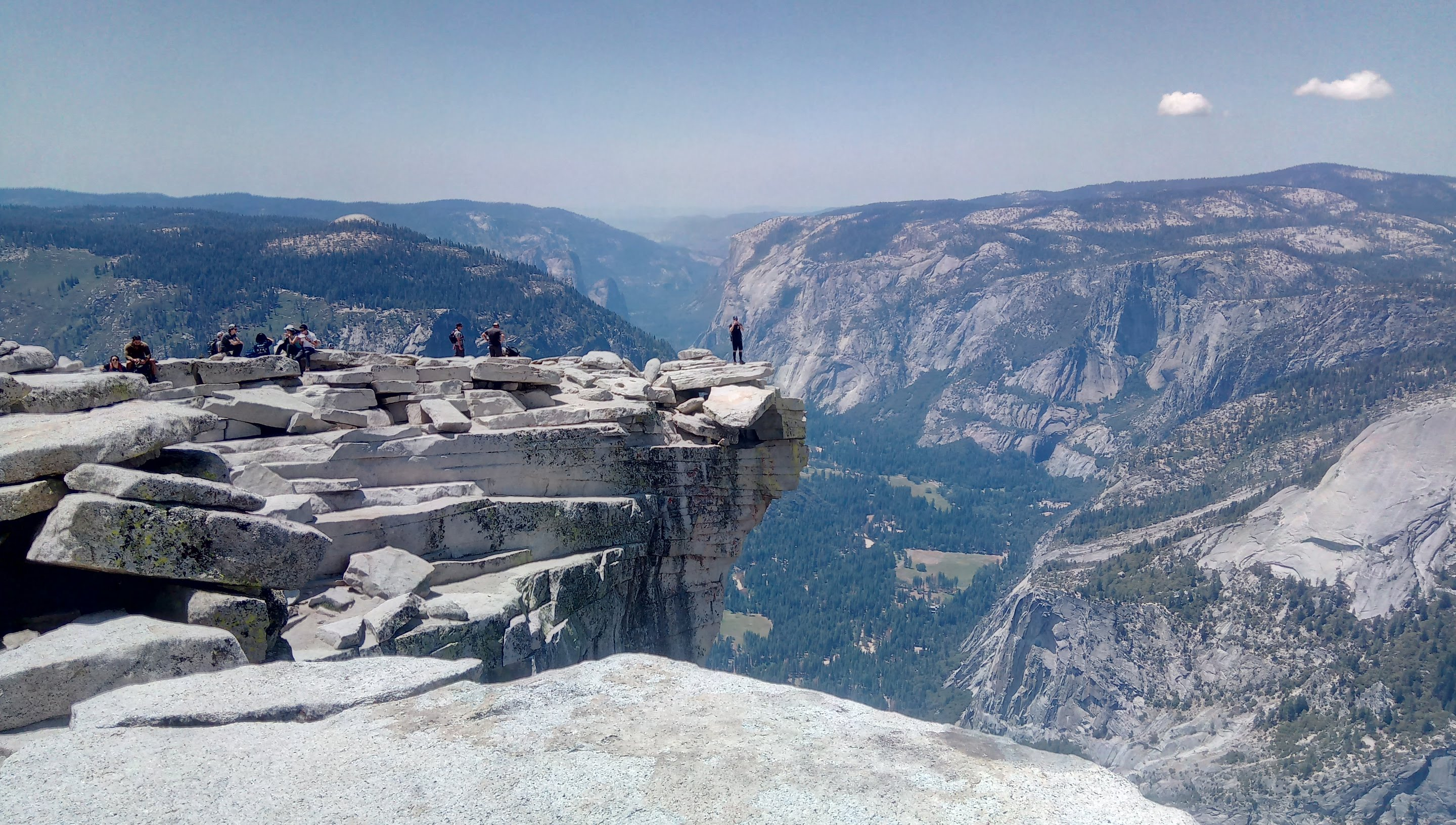 Half Dome SOTA activation 2020/07/25